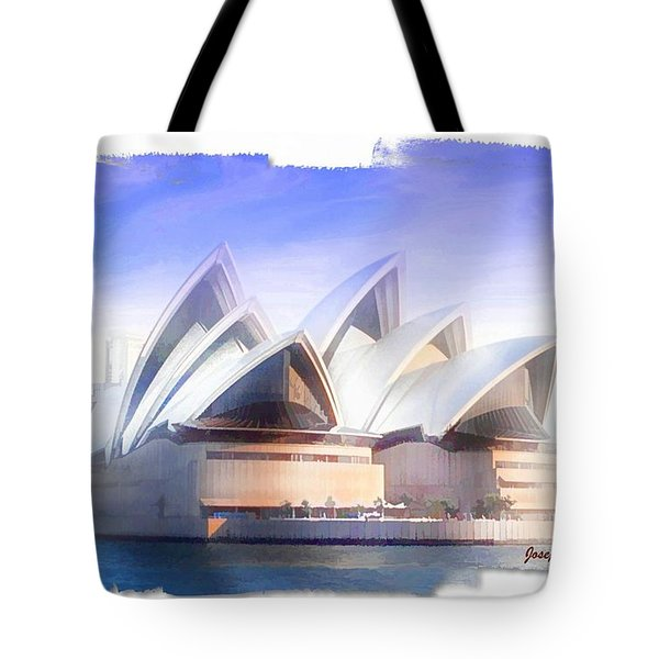 Tote Bag featuring the photograph Do-00109 Opera House by Digital Oil