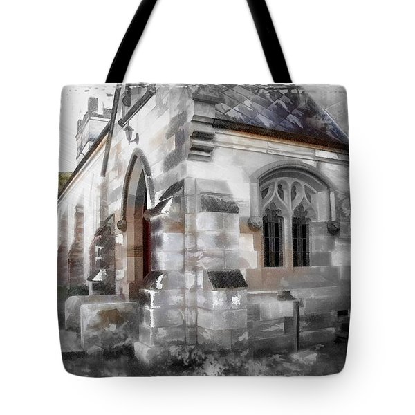 Tote Bag featuring the photograph Do-00116 Church In Morpeth by Digital Oil