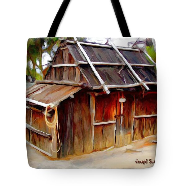 Tote Bag featuring the photograph Do-00129 Old Cottage by Digital Oil