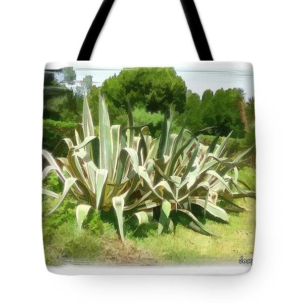 Tote Bag featuring the photograph Do-00335 Plant Bois Des Pins by Digital Oil