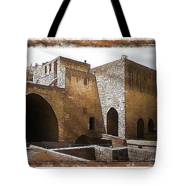 Do-00422 St Gilles Citadelle Tote Bag