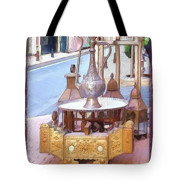 Tote Bag featuring the photograph Do-00456 Artisanat Collection by Digital Oil