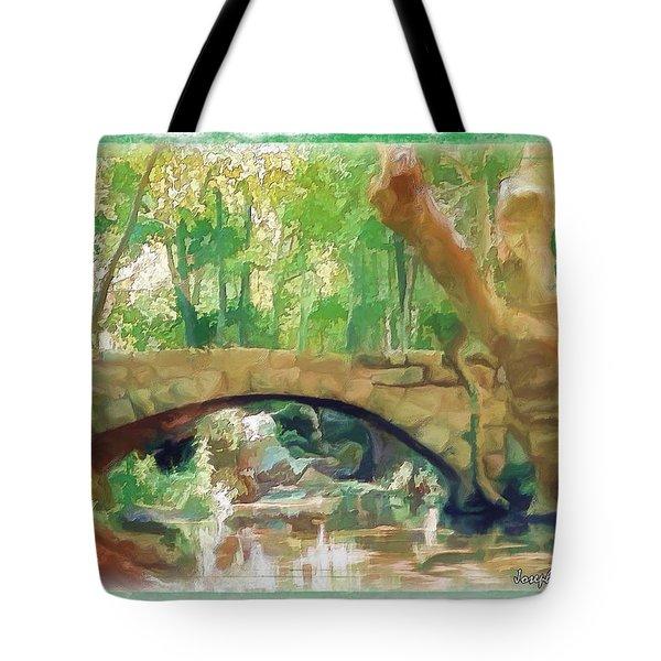 Do-00457 Janneh Bridge Tote Bag