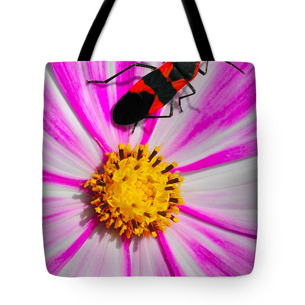 Do I Clash With This Flower? Tote Bag