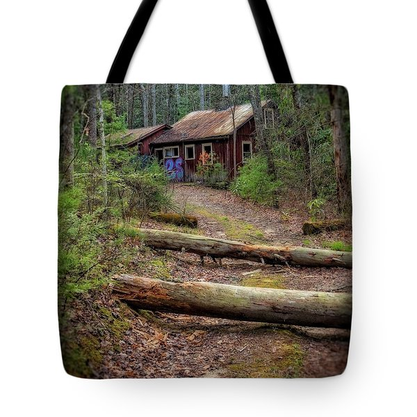 Tote Bag featuring the photograph Do Not Enter by Alan Raasch