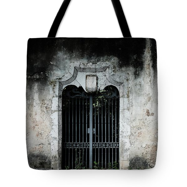 Tote Bag featuring the photograph Do Not Enter by Marco Oliveira