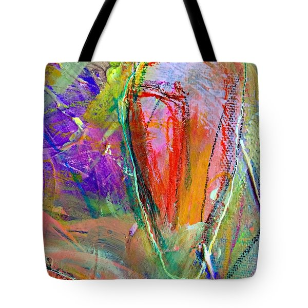 Do Over In Color 2 Tote Bag by Shelley Graham Turner