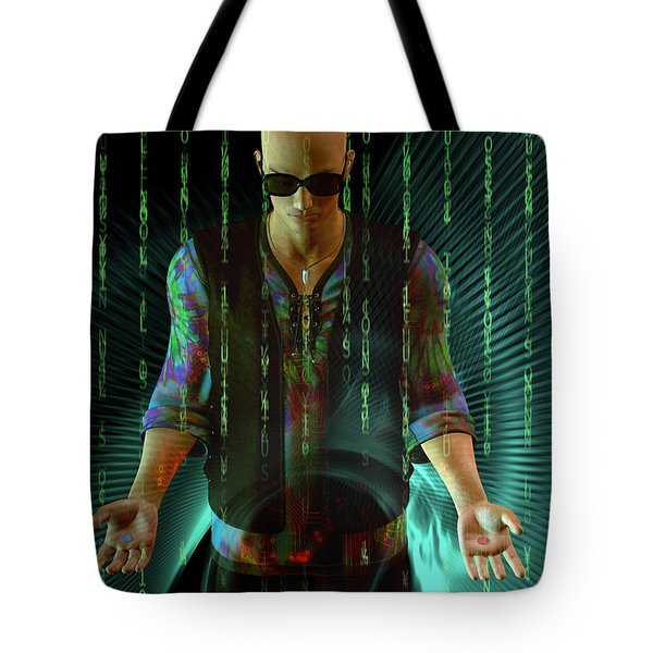 Tote Bag featuring the digital art Do You Believe ...   In Fate? by Shadowlea Is