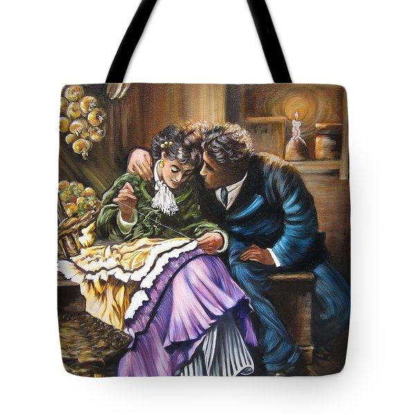 American History    Will You Marry  Me? Tote Bag