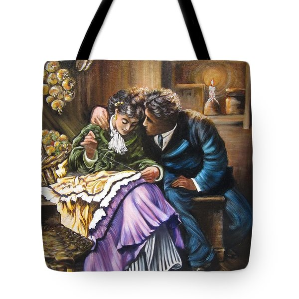 Historical    Do You Love Me? Tote Bag
