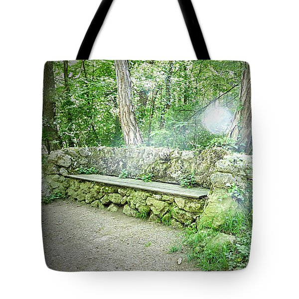 Tote Bag featuring the photograph Do You Want To Take A Rest by Bee-Bee Deigner