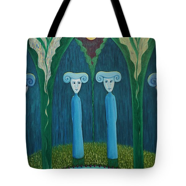 Do You Know What Day It Is Today? Tote Bag by Tone Aanderaa