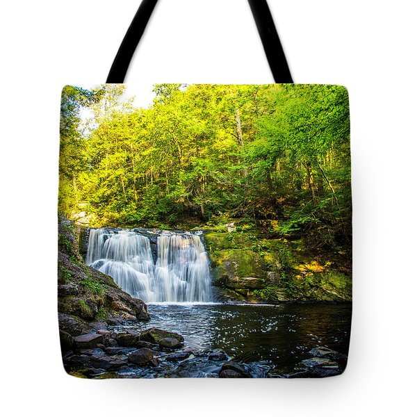 Doans Falls Lower Falls Tote Bag