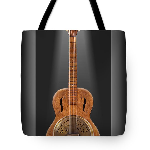 Dobro In A Box Tote Bag by Mike McGlothlen