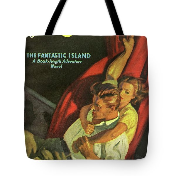 Doc Savage The Fantastic Island Tote Bag
