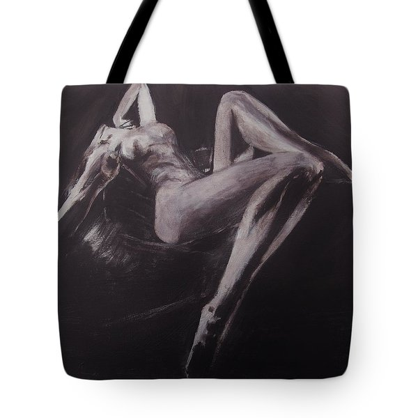 Tote Bag featuring the painting Doce Pecadora Love by Jarko Aka Lui Grande