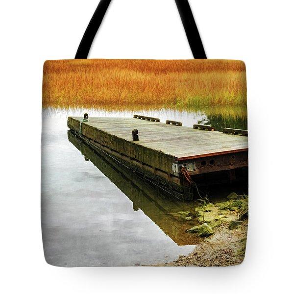 Dock And Marsh Tote Bag
