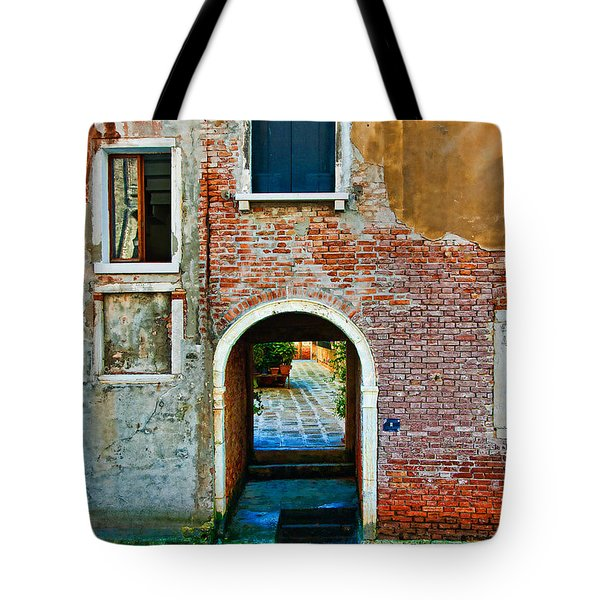 Dock And Windows Tote Bag
