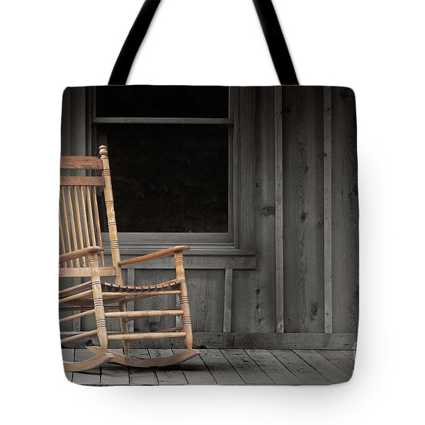 Dock Chair Tote Bag