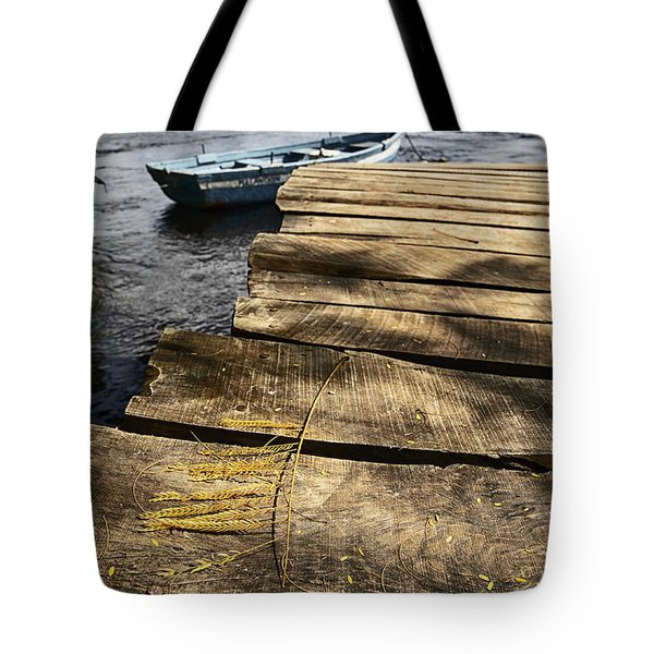 Dock Details Tote Bag