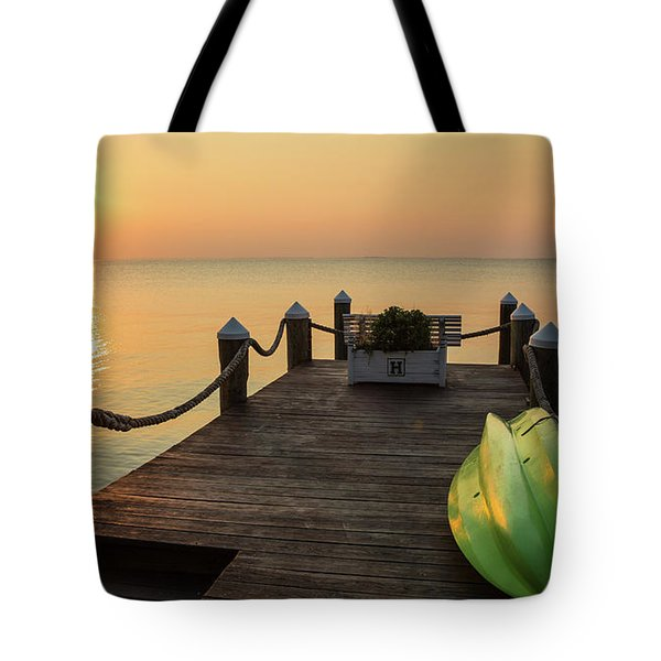 Dock Of The Bay Tote Bag