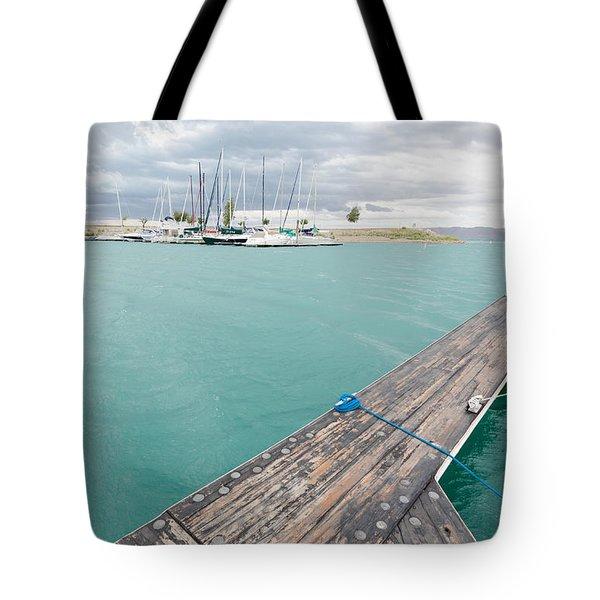 Dock View Tote Bag