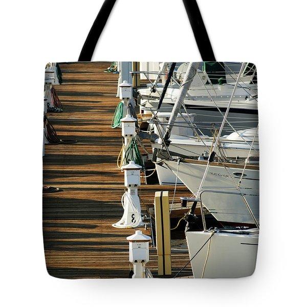 Dock Walk Tote Bag