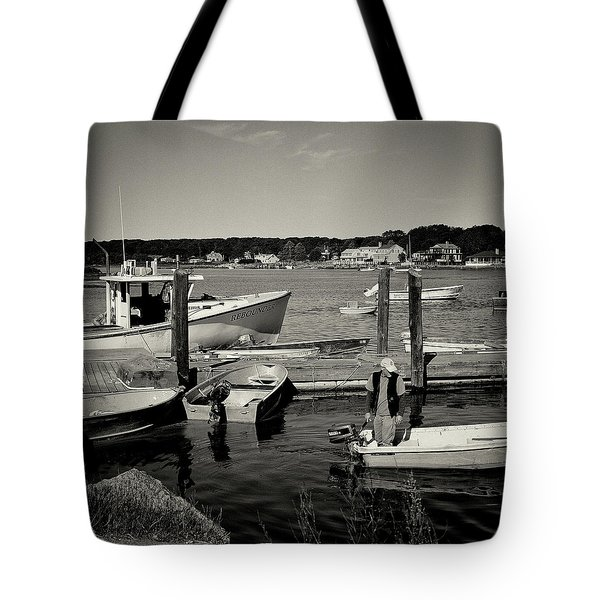 Dock Work Tote Bag