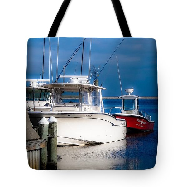 Docked And Quiet Tote Bag