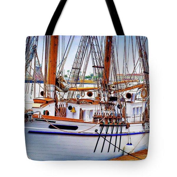 Docked Tote Bag
