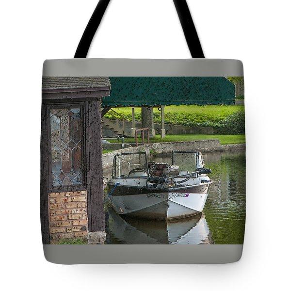 Docking Mayflies Tote Bag