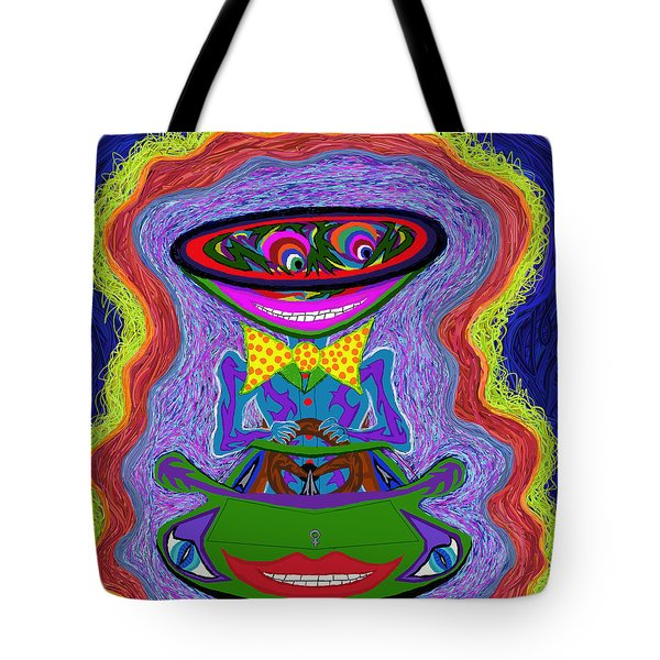 Doctor Techniko Tote Bag by Robert SORENSEN