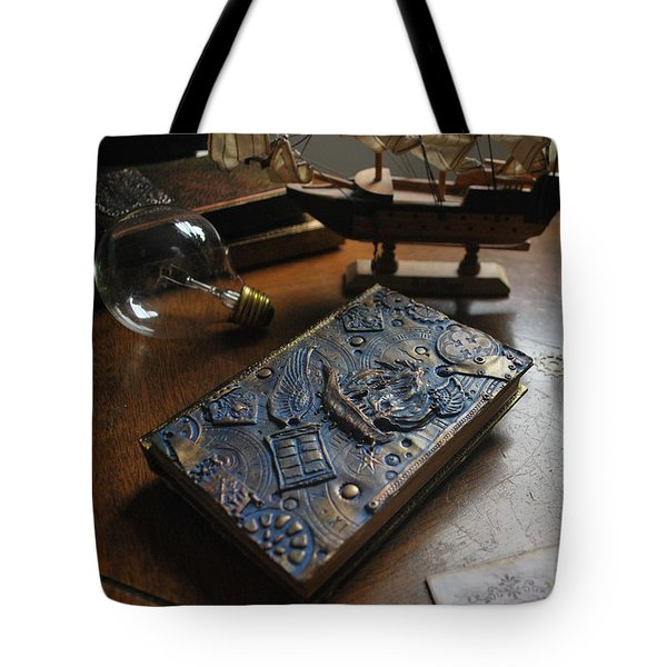 Doctor Who Steampunk Journal  Tote Bag