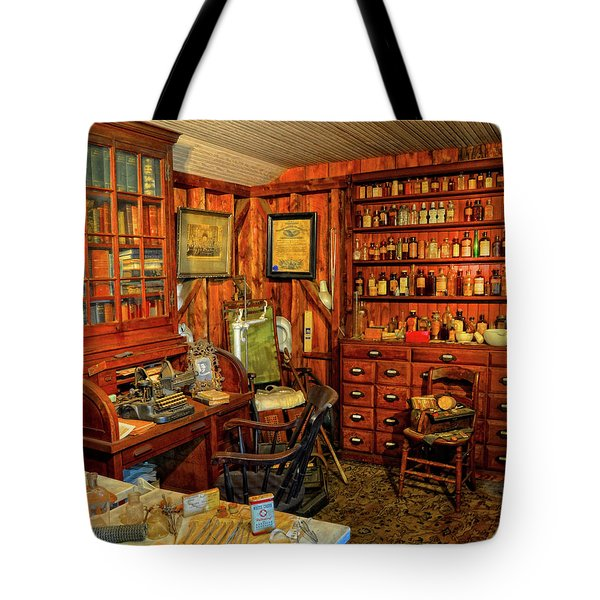 Doctors Office Tote Bag