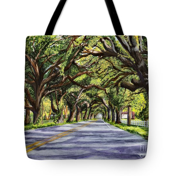 Docville Oaks Tote Bag by Elaine Hodges