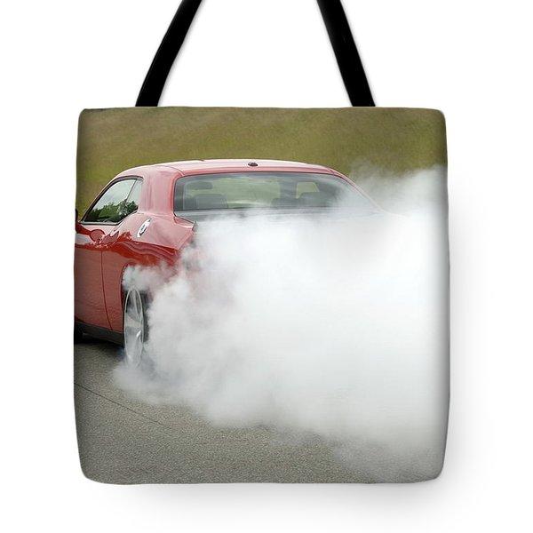 Dodge Challenger Srt8 Tote Bag