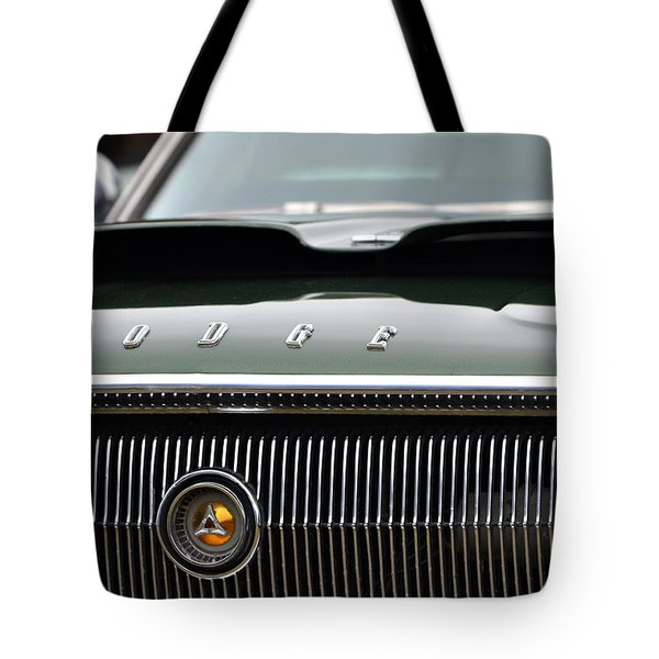 Dodge Charger Hood Tote Bag by Dean Ferreira