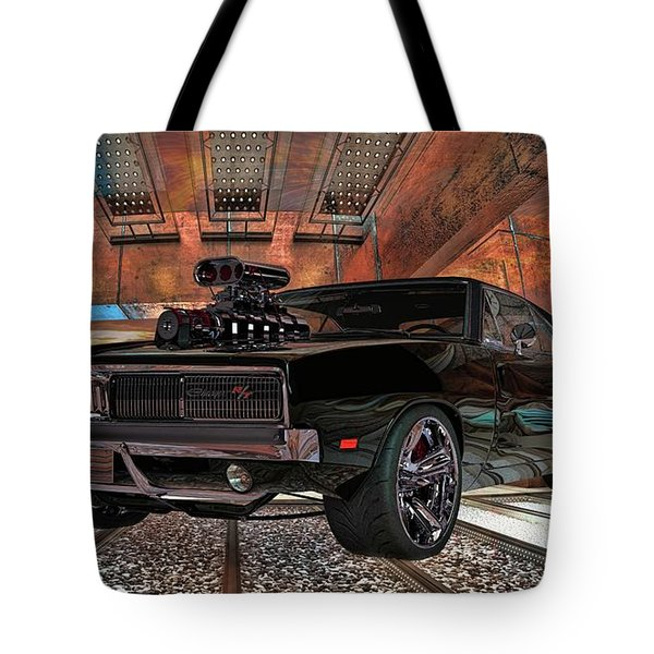 Dodge Charger R/t 1969 Hemi Tote Bag