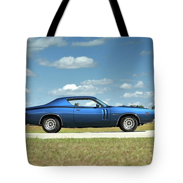 Dodge Charger Rt Tote Bag