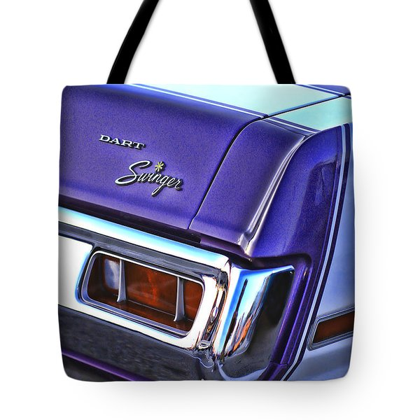 Dodge Dart Swinger Tote Bag