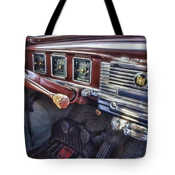 Dodge Dash Tote Bag by Michael Thomas