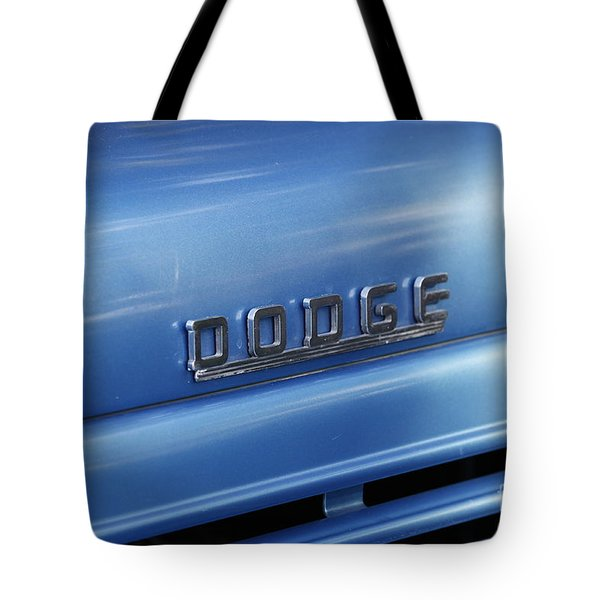 Dodge Hood Emblem Tote Bag