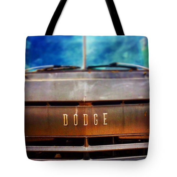 Dodge In Town Tote Bag