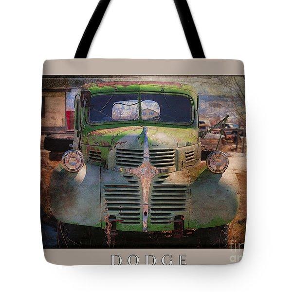 Dodge Tote Bag