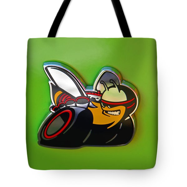 Dodge Scat Pack Badge Tote Bag