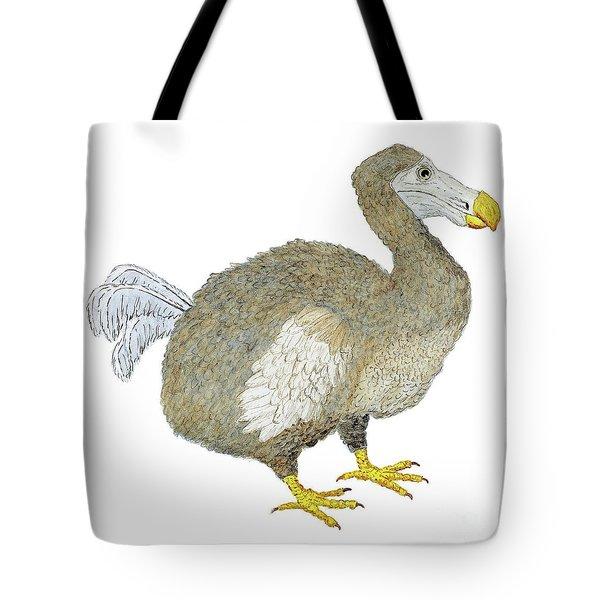 Dodo Bird Protrait Tote Bag