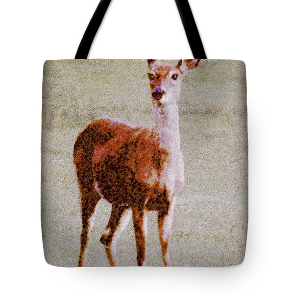 Doe Eyes Tote Bag