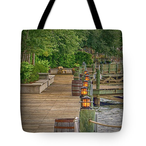 Down By The Boardwalk Tote Bag