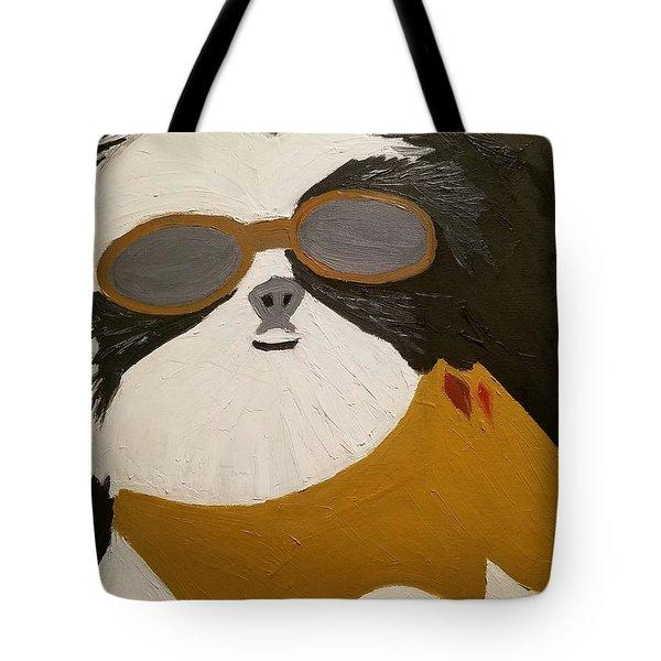 Dog Boss Tote Bag by J Cv