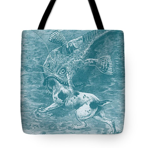 Dog Fish Tote Bag